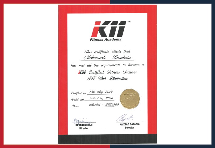 Certificates Awards Mehernosh Randeria